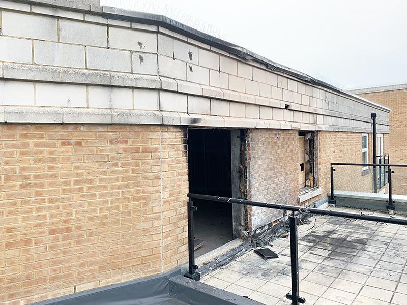 nova building penthouse fire damage