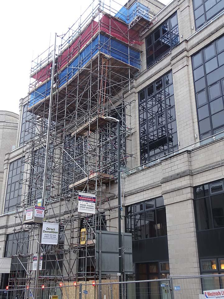 nova house scaffolding